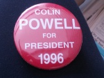 Campaign button found in the family files